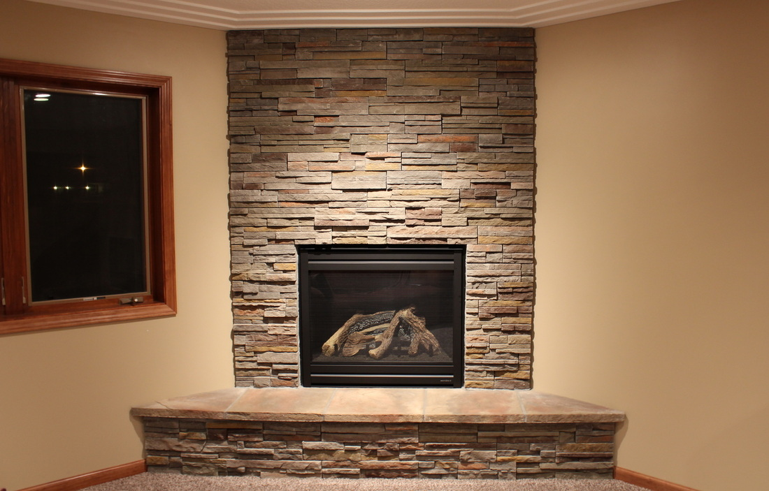 Fireplace Face. Cultured Stone ...